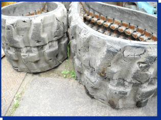 ゴムクローラー廃棄に関する法的規則